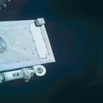 ISSの中継カメラにステルス機型UFO!?すぐさまNASAが中継を中断したが隠蔽間に合わず!
